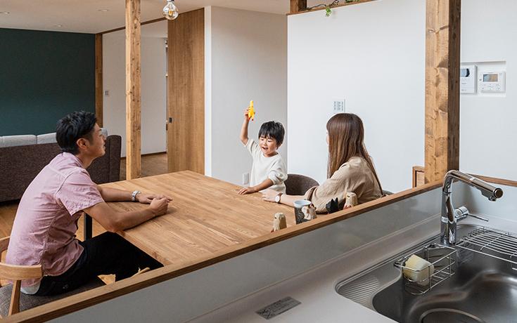 共和ハウジングのモデルハウス子供部屋