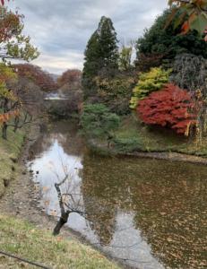 秋の上田城