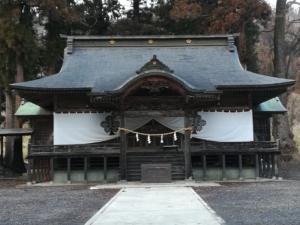小川神社に参拝