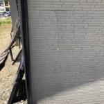 外壁補修工事。