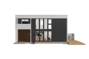 川中島町原売却型モデルハウス 南