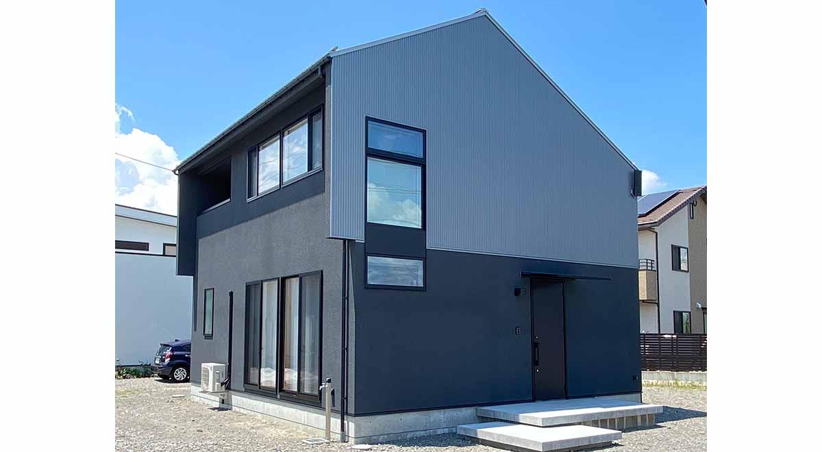 安曇野市豊科高家売却型モデルハウス