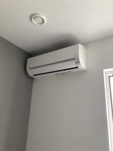 空調設備工事。